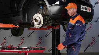 Wie BMW X3 E83 Stabigummis vorne wechseln TUTORIAL | AUTODOC