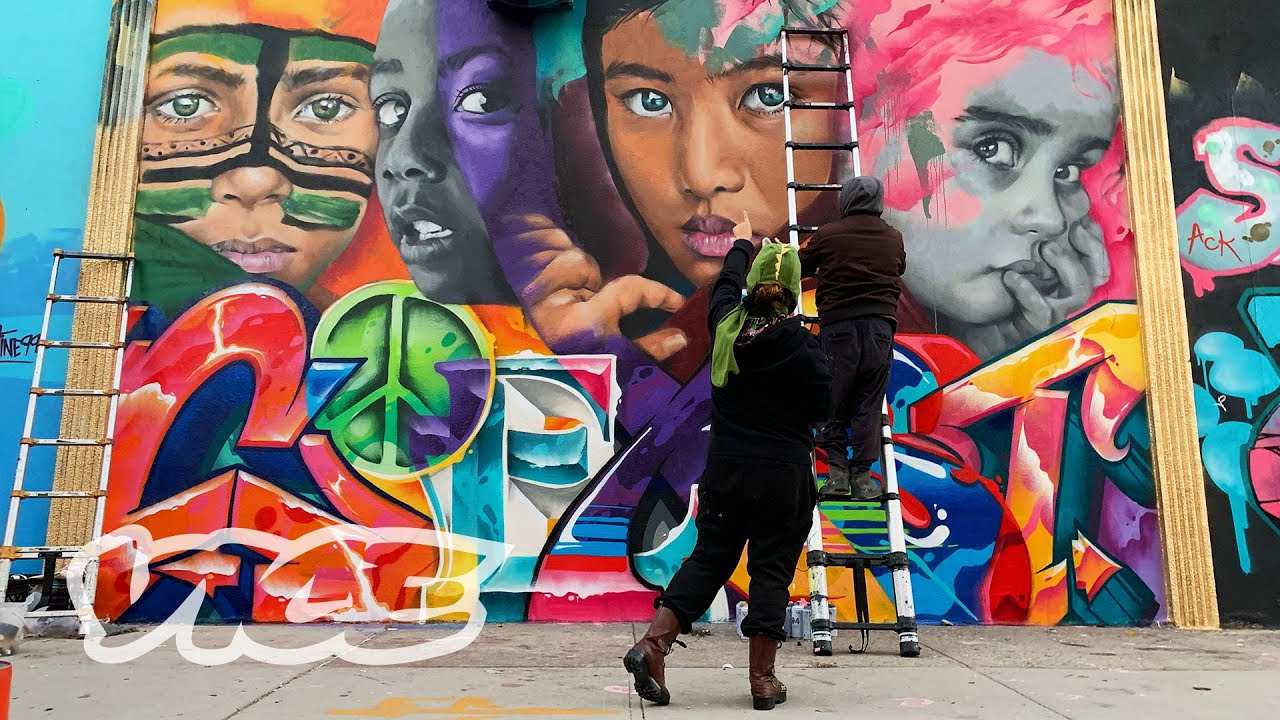 Creating Illegal Murals in Bushwick with Menaceresa
