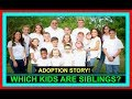 WHICH KIDS ARE SIBLINGS? | OUR ADOPTION STORY! | FAMILY STORY!