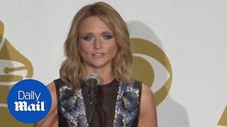 Miranda Lambert on winning Best Country Album Grammy - Daily Mail