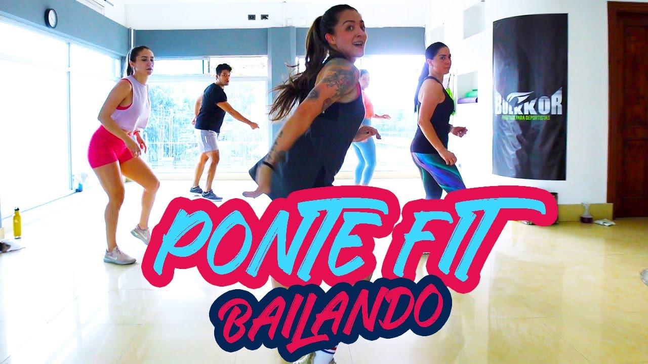 PONTE FIT BAILANDO en CASA - 1 hora Cardio Dance #43- Non stop Zumba Class - Natalia Vanq