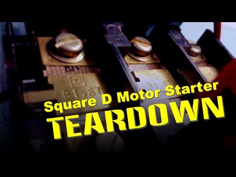 SQ D Starter Teardown