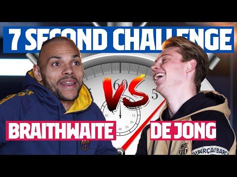 ⏱️ 7 SECOND CHALLENGE (SUPERCUP)   DE JONG Vs BRAITHWAITE