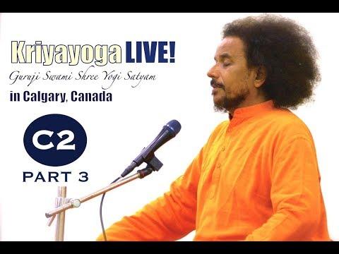 Kriyayoga LIVE 03-03-2018 7am (C02) Calgary Program, Class #2, PART 3