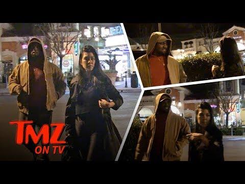 Kanye And Kourtney Are Quieeeeet! | TMZ TV