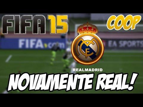 Fifa 15 - Temporada Coop - Retornando com o REAL!