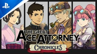 The Great Ace Attorney Chronicles - Announcement Trailer | PS4