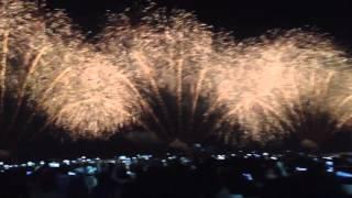 Dubai Burj Al Arab New Year Fireworks 2016