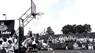 Calling --- Eric Bishop -- Slam dunk over a car