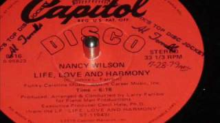 Nancy Wilson Life Love And Harmony