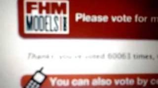 FHM MODEL 33 Jenelle Joanne Ramsami Thanks, you've voted 60167.wmv