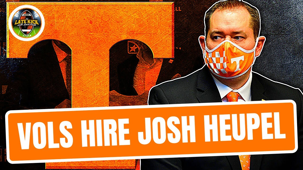 Like it or not Tennessee fans, Josh Heupel was a good choice ...