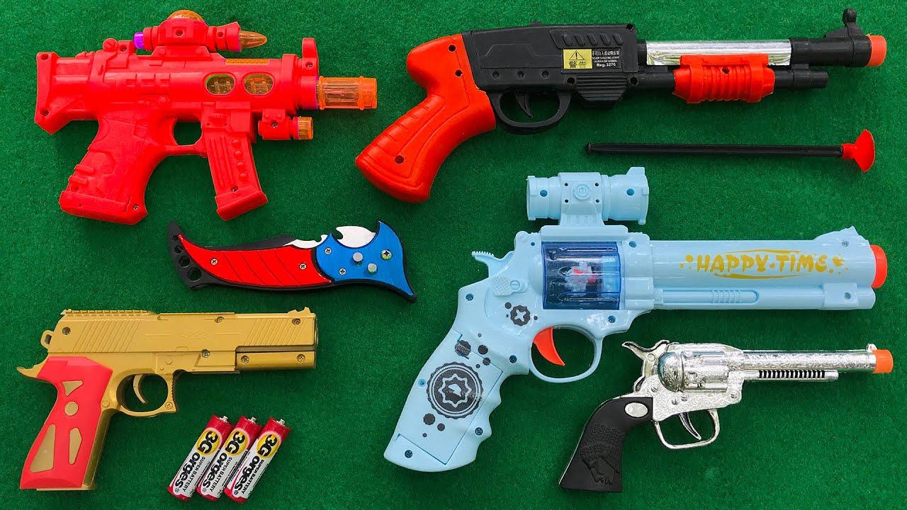 New A222 Pistol & Shoot Gun With dangerous Foldable Mini Knife Survival Gear