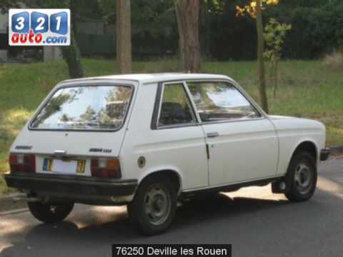 occasion peugeot 104 deville les rouen youtube. Black Bedroom Furniture Sets. Home Design Ideas