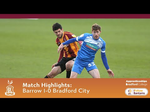 Barrow Bradford Goals And Highlights