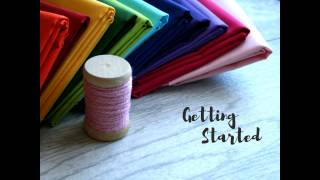Beginning Sewing Class: Getting Started