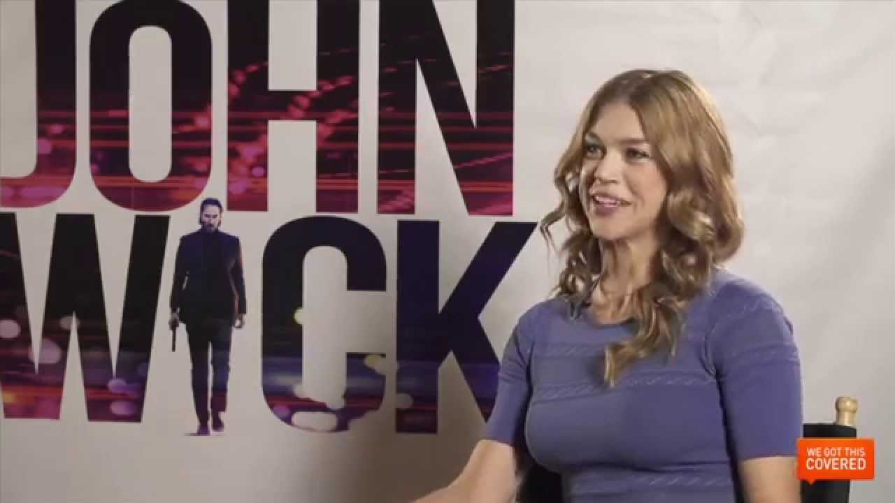 John wick interview with adrianne palicki hd youtube