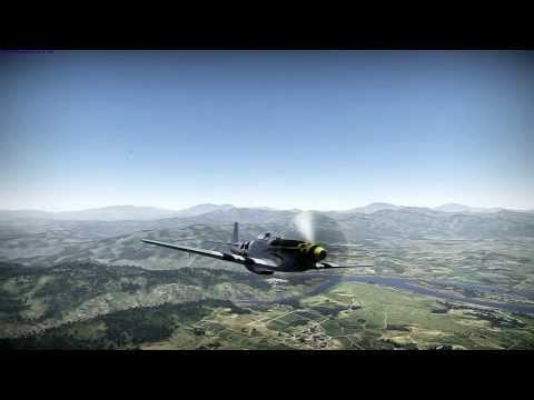 (War Thunder HB) P51 vs La 9, Yak 9UT & MiG 9