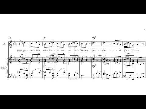 Stabat Mater Pergolesi 2. Cujus Animam Piano Karaoke