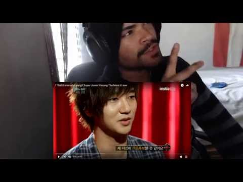 110618 immortal song2 Super Junior Yesung The More I Love REACTION!!