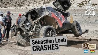 Sébastien Loeb crashes on stage 8 but finishes - Dakar 2016