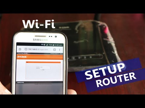 D-Link | Wifi Router Setup | Change Wifi Password Using Mobile