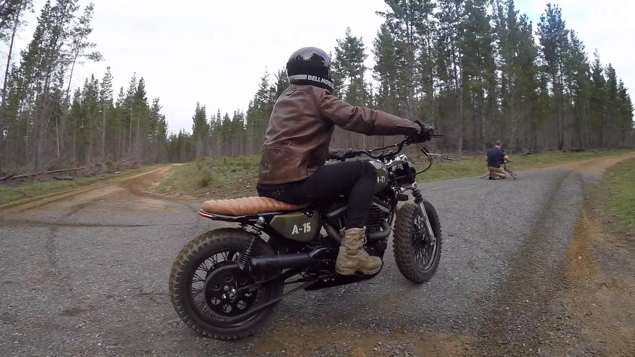 0ed06de9fde2 A 15 Behind The Scenes - Custom Harley Davidson - YouTube