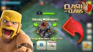 Savaş Makinesi ! Clash Of Clans Battle Machine