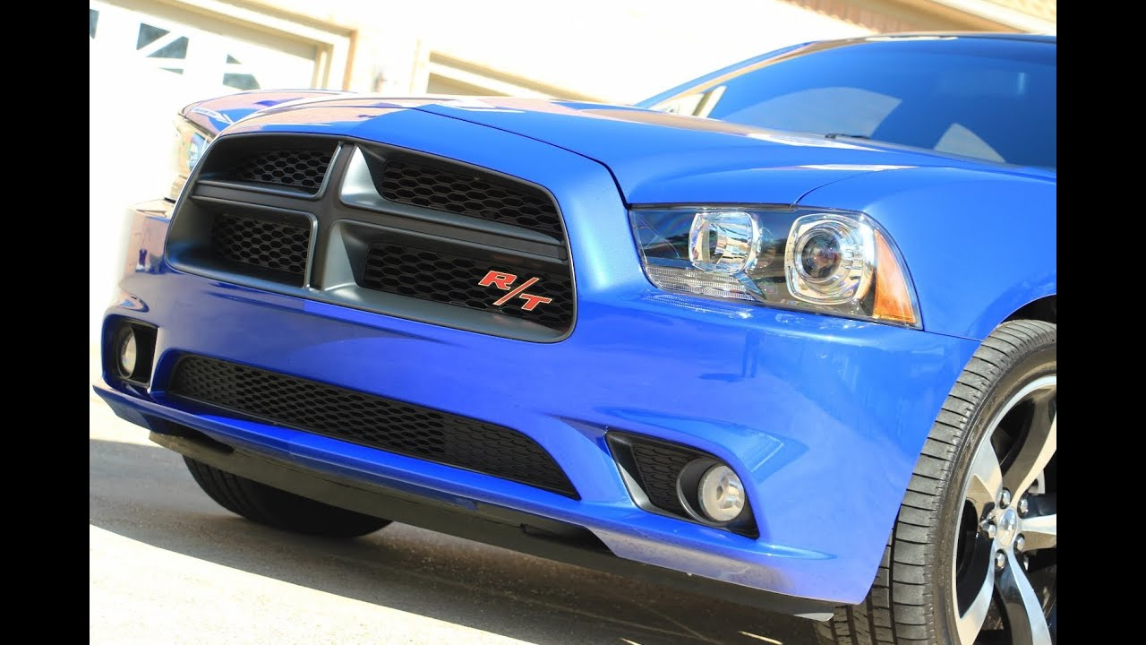 hd video 2013 dodge charger rt daytona blue used for sale see www sunsetmotors com youtube. Black Bedroom Furniture Sets. Home Design Ideas