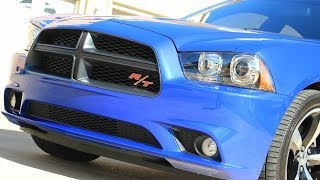 hd video 2013 dodge charger rt daytona blue used for sale see www sunsetmotors com