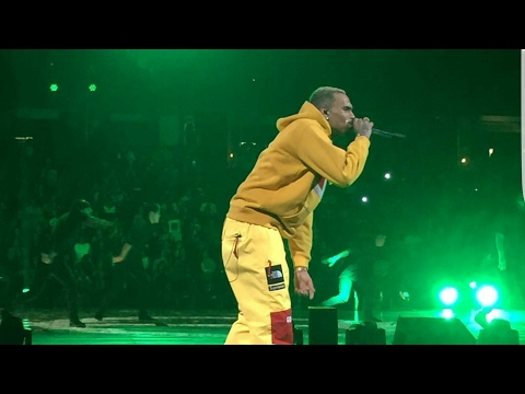 Chris Brown & Kendrick Lamar-  The Party Tour - Full Performance