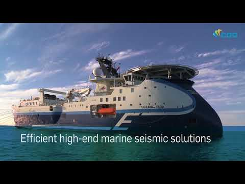 Efficient high-end marine seismic solutions with CGG Marine