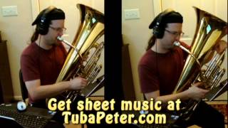 Andy Griffith Show Tuba Quartet cover + sheet music