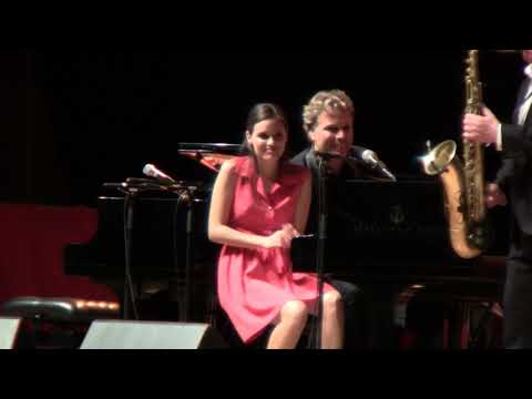 Laroquebrou 2017. Duo de pianos avec Ladyva & Silvan Zingg
