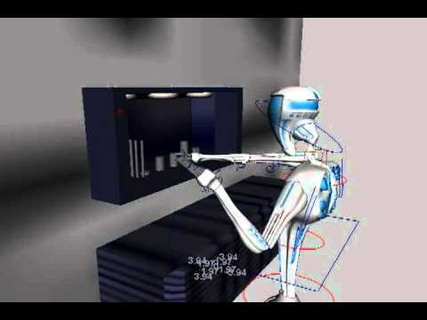 Medical Droid CGI Animation Test 01
