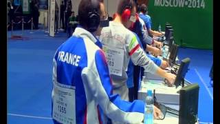 2014 European Championship 10m, Air Pistol men final