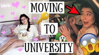 MOVING TO THE UNIVERSITY OF LINCOLN 2018 | Second Year House with my Best Friends!