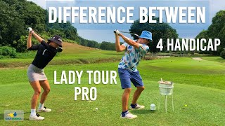 Difference between LADY TOUR PRO and LOW HANDICAP playa