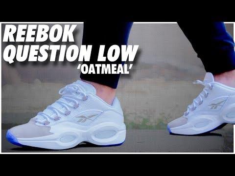 Reebok Question Low Oatmeal