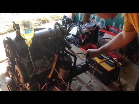 VW 1.9L TDI engine - NO ELECTRONICS