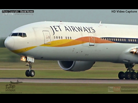 Jet Airways DIVERTED Mumbai India- London Heathrow British Airways 747 Kuwait A340 Stansted Planes