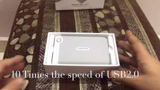 Transcend StoreJet 2TB 3.0 USB Hard Drive SJM100