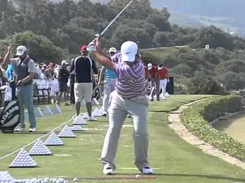 Francesco Molinari Golf Swing In High Speed Slow Motion Face On Youtube