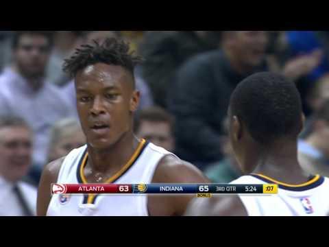 Atlanta Hawks vs Indiana Pacers - January 28, 2016