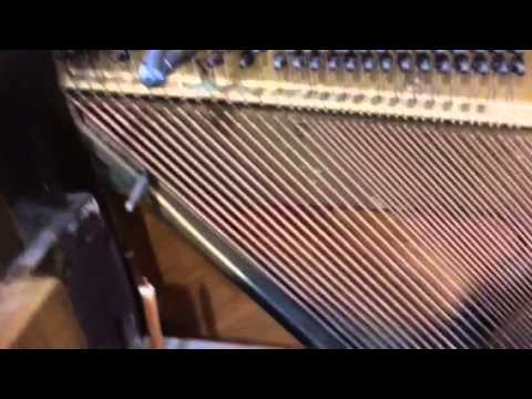 buzzing bass string repair 2 youtube. Black Bedroom Furniture Sets. Home Design Ideas