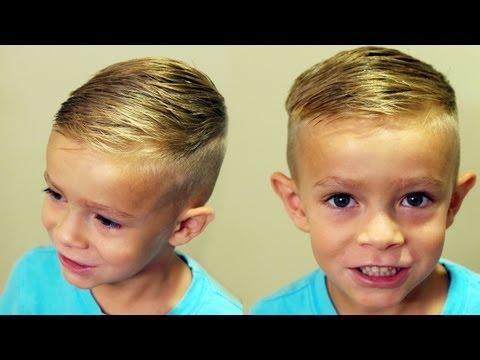 HOW TO CUT BOYS HAIR // Trendy boys haircut tutorial