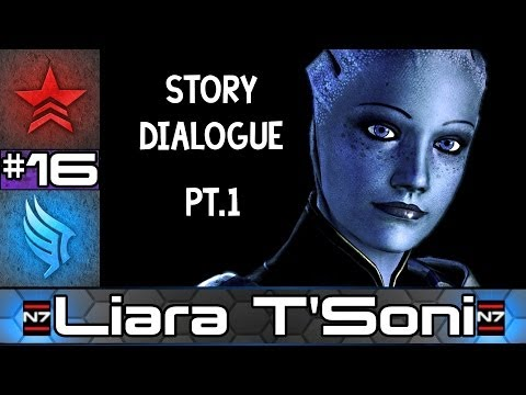Mass Effect Story Dr Liara T Soni All Conversations 1 Paragon