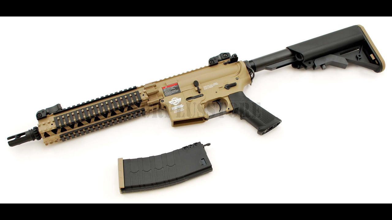Best Beginner Airsoft Gun Under 200 G Cm18 Mod 1 Review And Shooting Test