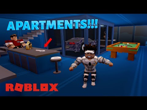 ROBLOX JAILBREAK APARTMENTS!!! [NEW UPDATE] (Free Rent, Parties & Confetti Gun?!?)