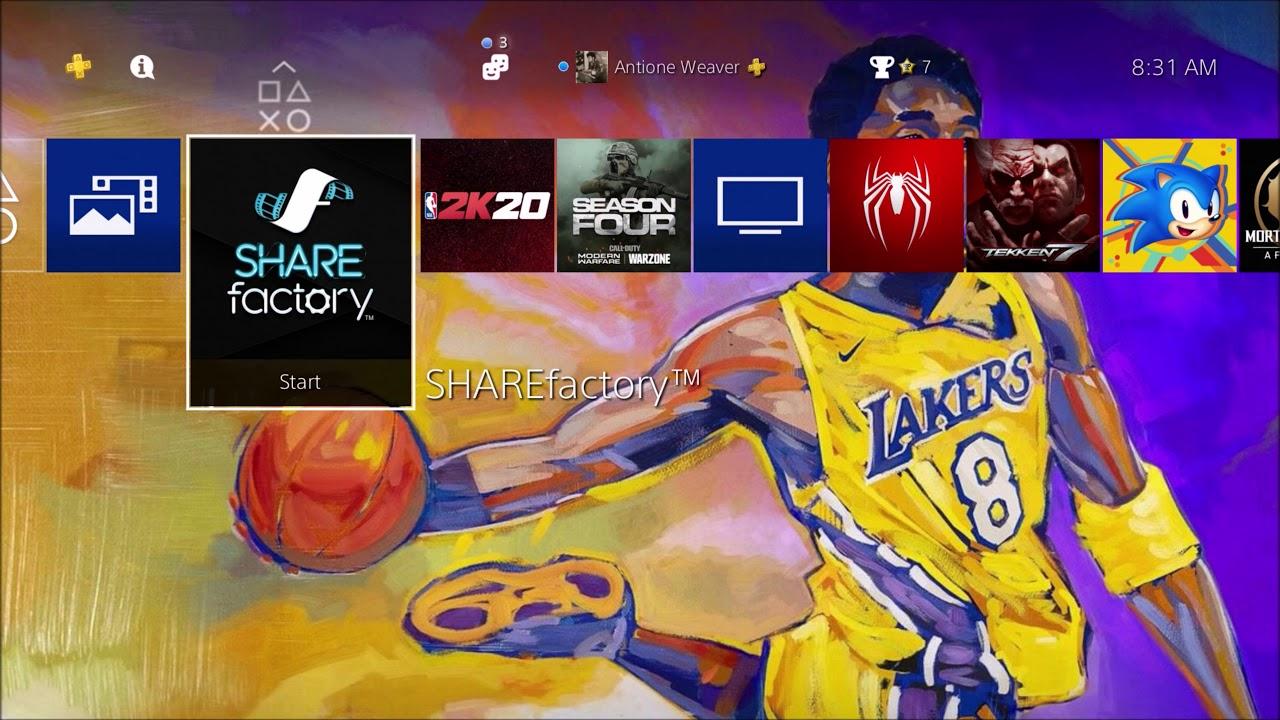Nba 2k21 How To Get The Kobe Mamba Edition Wallpaper Youtube